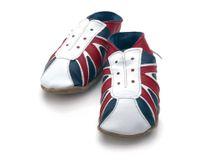 Starchild - Kožené botičky - UK Trainer Navy / red - velikost XL (18-24 měsíců)