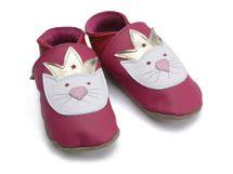 Starchild - Kožené botičky - Princess Paws Fuchsia - Kids - velikost XS 24-25 (2-3 roky)