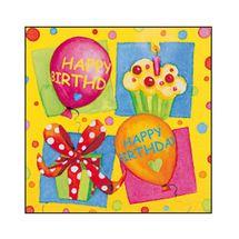 SUSY CARD - Ubrousky 33x33 cm - Happy Birthday