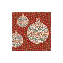 SUSY CARD - Vánoční ubrousky 33x33 cm - Paisley & More
