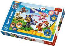 TEDDIES - Puzzle Tlapková Patrola/Paw Patrol 41x27,5cm 160 dílků v krabici 29x19x4cm