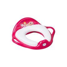 TEGA BABY - redukce na WC měkká Little princess růžová