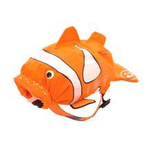 TRUNKI - Nepromokavý batoh - Klaun očkatých (oranžový 7.5L)