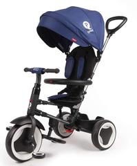 VOLARE QPLAY - Dětská tříkolka, Tricycle Rito Deluxe, modrá