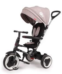 VOLARE QPLAY - Dětská tříkolka, Tricycle Rito Deluxe, šedá