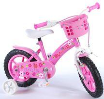 """VOLARE - Dětské kolo, Flower 12 """", Pink"""