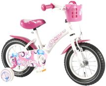 """VOLARE - Dětské kolo, Kanzone Giggles 12 """", WHITE / PINK"""