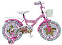 """VOLARE - Dětské kolo pro dívky, LOL Surprise,, 16 """"- růžový"""