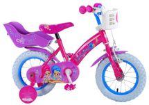 """VOLARE - Dětské kolo pro dívky, Shimmer & Shine,, 12 """"- růžový"""