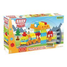 WADER - Stavebnice Baby Blocks vláček 58D 41470