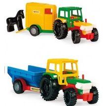 WADER - Traktor s vlečkou nebo přívěsem na koně