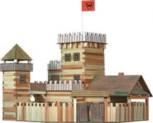 WALACHIA - Dřevěná stavebnice Hrad