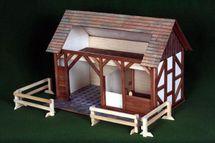 WALACHIA - Dřevěná stavebnice Stáj