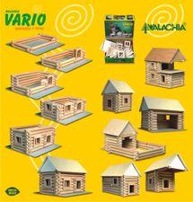 WALACHIA - Dřevěná stavebnice VARIO 72 dílů