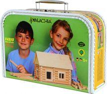 WALACHIA - Dřevěná stavebnice Vario kufřík 72d