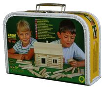WALACHIA - Dřevěná stavebnice Vario kufřík