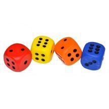WIKY - Kostky hrací pěnové 4ks