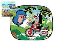 WIKY - Stínítko do auta Krtek na motorce (2 kusy)