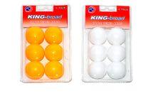 WIKY - Míčky na stolní tenis - žluté