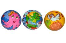 WIKY - Pěnový míč se zvířátky 9cm