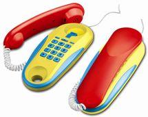 WIKY - Telefony šňůrové na baterie
