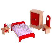 WOODY - Nábytek do domečků - ložnice