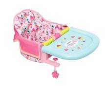 ZAPF - Baby Born Jídelní židlička s uchycením na stůl