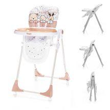 ZOPA - Dětská jídelní židlička Monti - Animal Beige