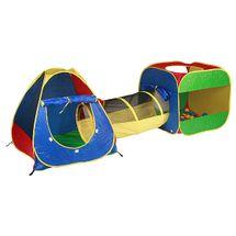 ZOPA - Domeček s míčky a tunelem