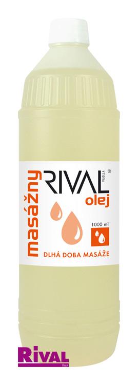 RIVAL - Masážní olej 1000 ml