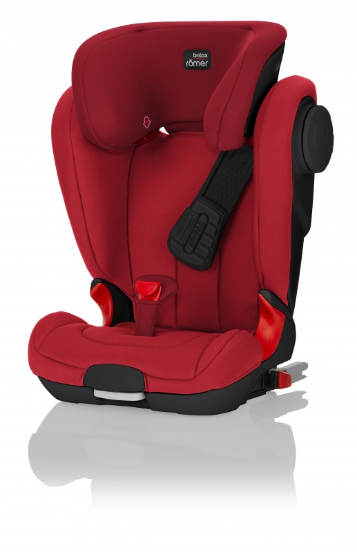 RÖMER - Autosedačka KIDFIX II XP SICT Black Edition, 15-36 - Flame Red