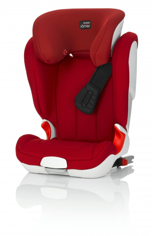 RÖMER - Autosedačka KIDFIX XP, 15-36 kg, Flame Red 2016