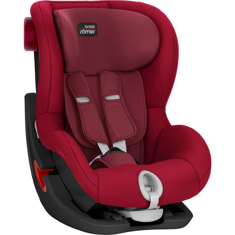 RÖMER - Autosedačka King II Black, 9-18 kg - Flame red