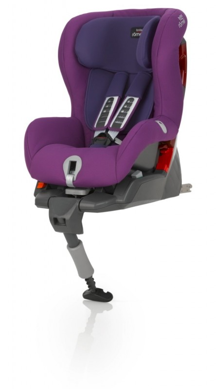 RÖMER - Autosedačka SAFEFIX PLUS, 9-18 kg, 2016, Mineral Purple