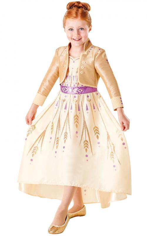 RUBIES - Frozen 2: ANNA - SPECIAL kostým (Prologue) - vel.L