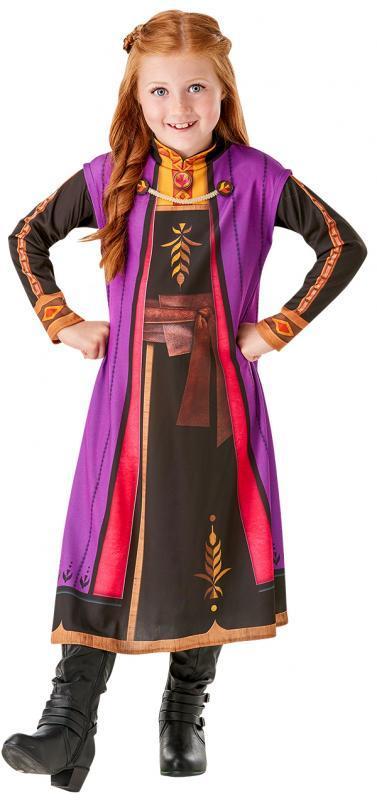 RUBIES - Frozen 2: ANNA - základní kostým - vel. M