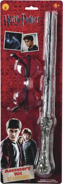 RUBIES - Harry Potter: doplňky hůlku a brýle