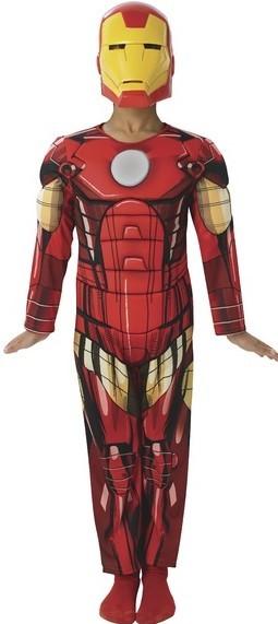 RUBIES - Karnevalový kostým Avengers: Assemble - Iron Man Deluxe - vel. M
