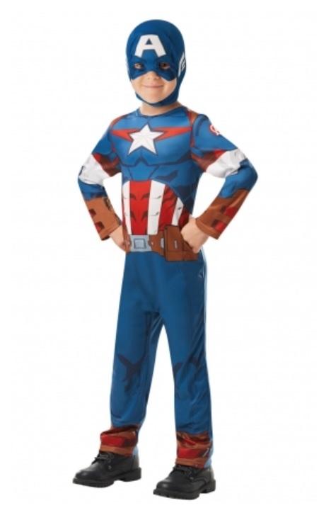 RUBIES - Kostým Avengers Captain America Classic - vel. L