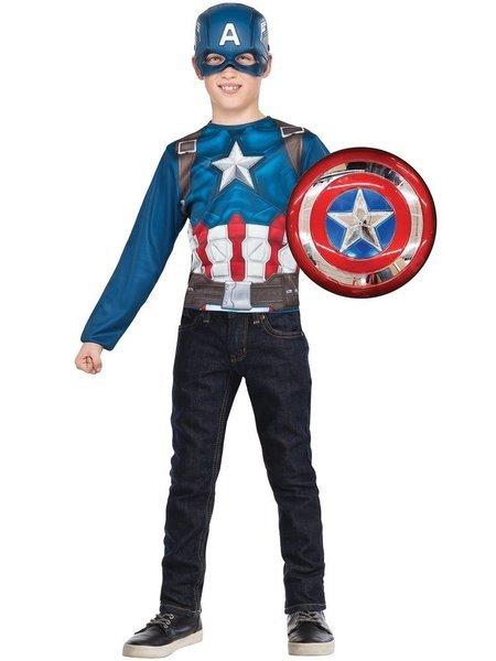 RUBIES - Kostým Avengers: Captain America s metalickým štítem