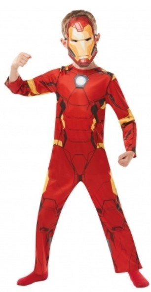 RUBIES - Kostým Avengers: Iron Man Classic - vel. M