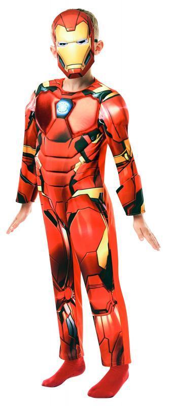 RUBIES - Kostým Avengers Iron Man Deluxe - vel. M