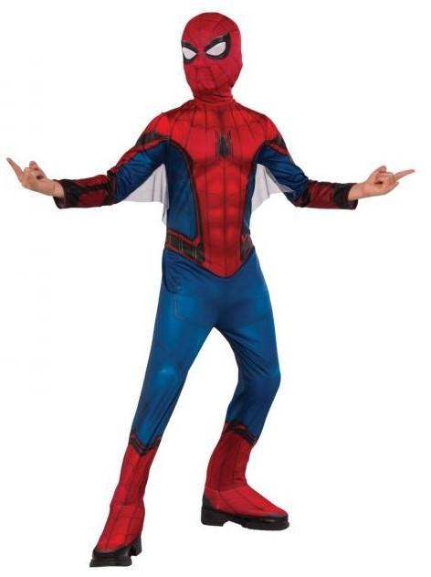 RUBIES - Kostým Spiderman Far from Home Classic kostým - vel.S