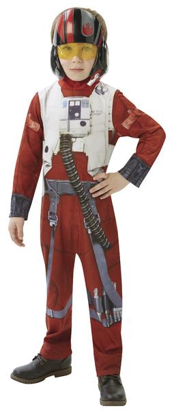 RUBIES - Karnevalový kostým Star Wars EP7: X-Wing Fighter Pilot - vel. M