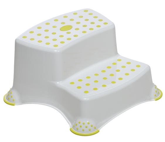 SAFETY 1ST - Dětský stupínek dvojitý White and Lime