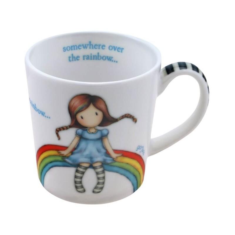 SANTORO - Gorjuss hrnek Rainbow Heaven