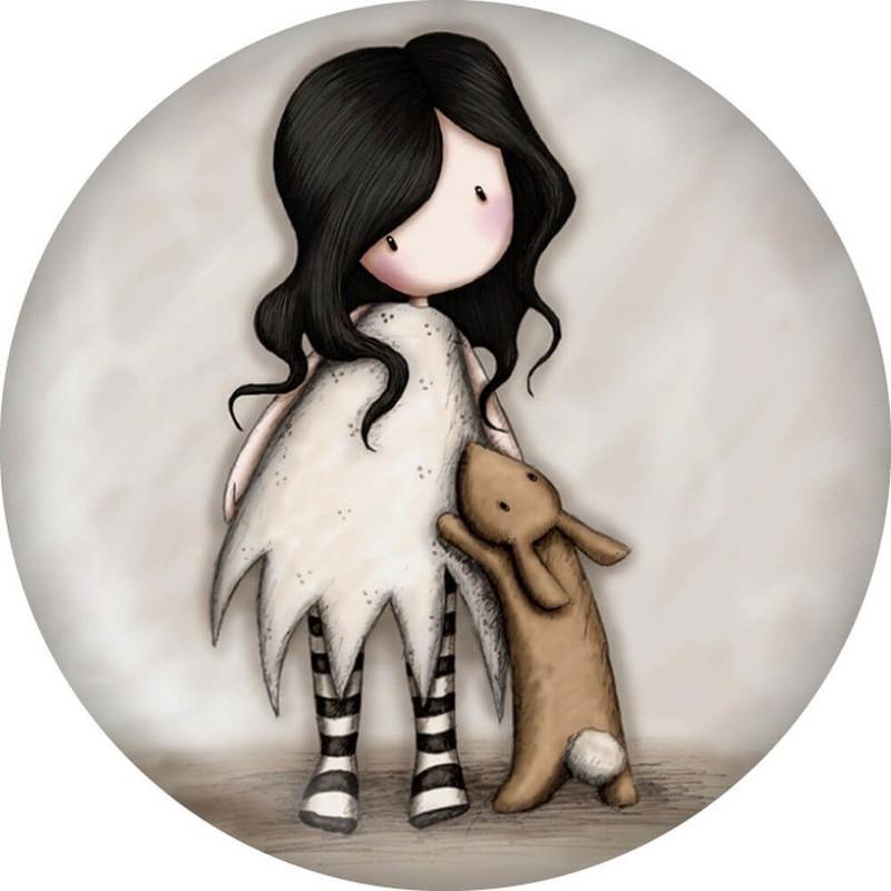 SANTORO - Gorjuss magnetka I Love You Little Rabbit