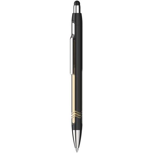 SCHNEIDER - Kuličkové pero Epsilon Touch, black-gold 0,7 mm pro dotykové zařízení
