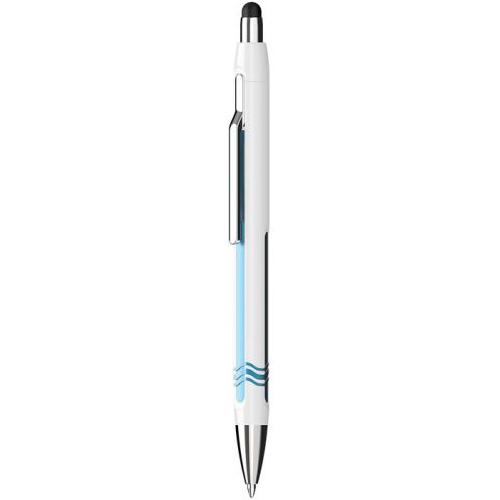 SCHNEIDER - Kuličkové pero Epsilon Touch, white-blue 0,7 mm pro dotykové zařízení