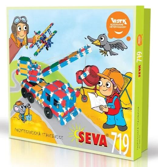 SEVA - Stavebnice Seva 719dielikov